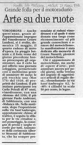 NASS RASSEGNA 1994 GAZZETTA DELLA MARTESANA