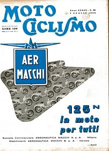 NASS PUBBLICITA 1953 MOTOCICLISMO-1