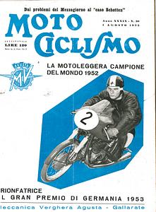 NASS PUBBLICITA 1953 MOTOCICLISMO IL PELLEGRINO-1